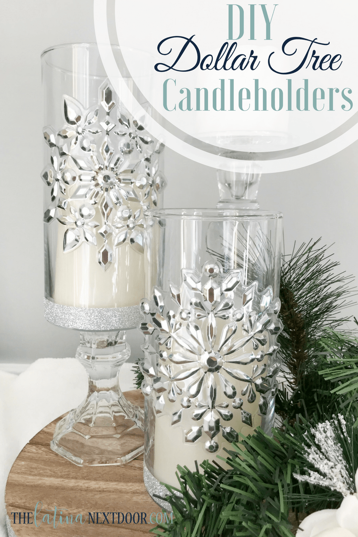 dollar tree christmas candleholders dollar tree christmas candleholders bling on the holidays oneline jpeg dollar tree christmas candleholders - Christmas Candle Holders Decorations
