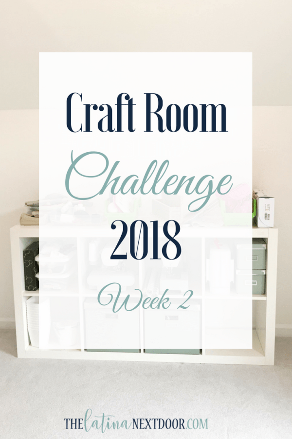CRC week 2 pin Craft Room Challenge Week 2