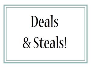%name deals & steals