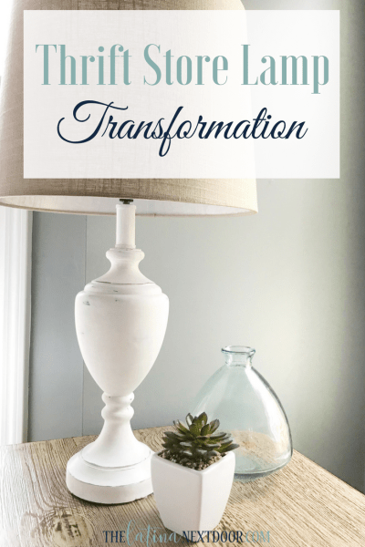 Thrift Store Lamp Transformation