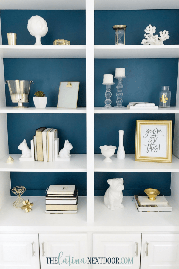 SW Color of the Year Oceanside 12 Sherwin Williams Color of the Year Oceanside Bookshelves