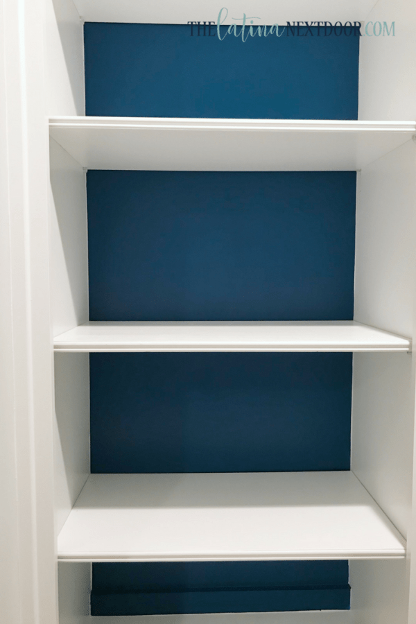 SW Color of the Year Oceanside 7 Sherwin Williams Color of the Year Oceanside Bookshelves