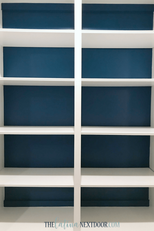 SW Color of the Year Oceanside 8 Sherwin Williams Color of the Year Oceanside Bookshelves