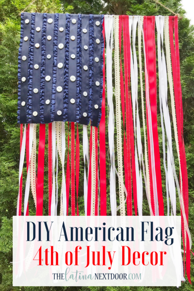 DIY American Flag for 4th of July