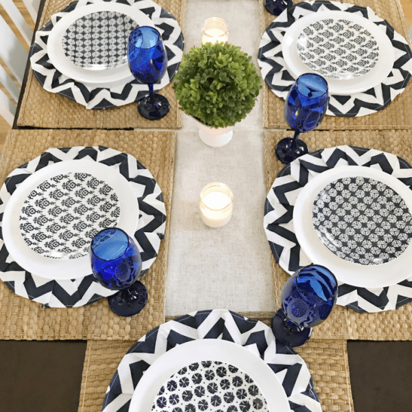 DIY Chargers Coastal Tablescape 11 DIY Chargers & Coastal Tablescape