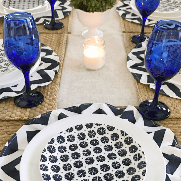 DIY Chargers Coastal Tablescape 13 DIY Chargers & Coastal Tablescape