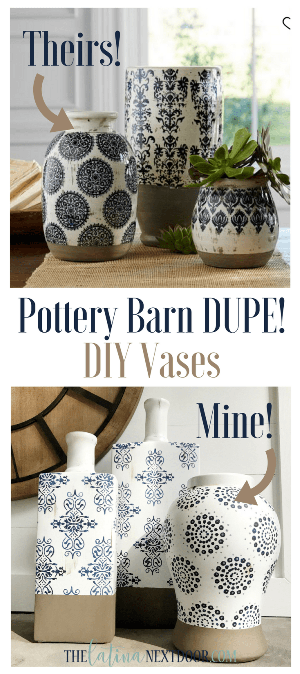 Pottery Barn Vase DIY DIY Pottery Barn Vases