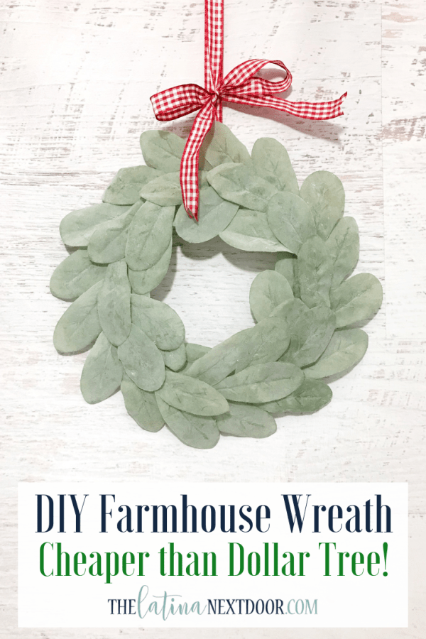 DIY Farmhouse Holiday Wreath  DIY Farmhouse Holiday Wreath