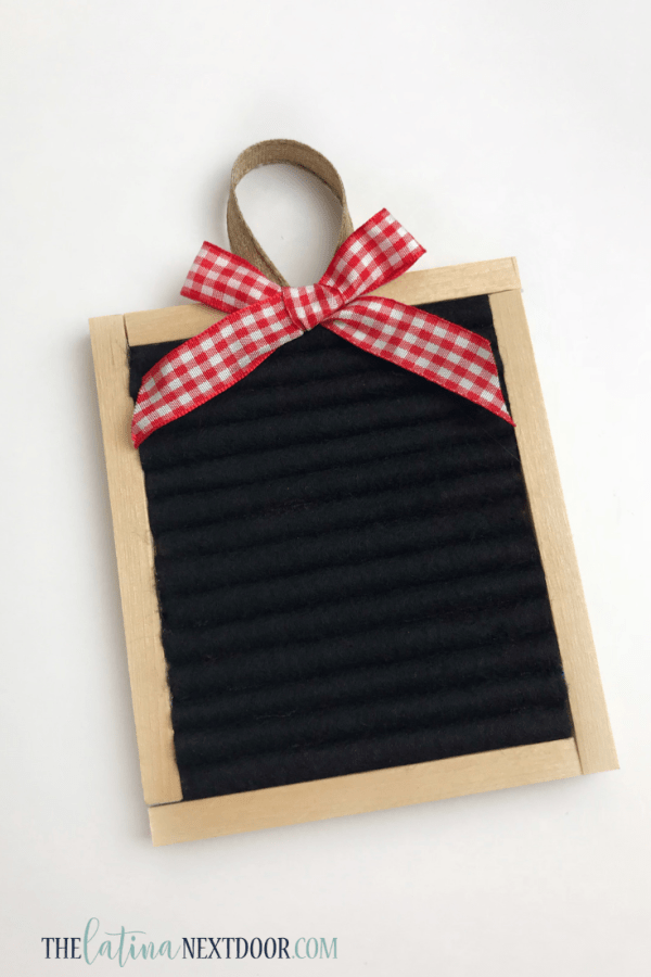 Countdown to Christmas Letter Board Ornament 7 DIY Letterboard Christmas Countdown Ornament