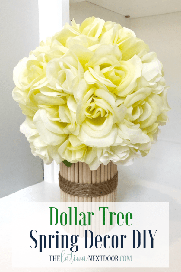 Dollar Tree Spring Decor Pin Dollar Tree Spring DIYs