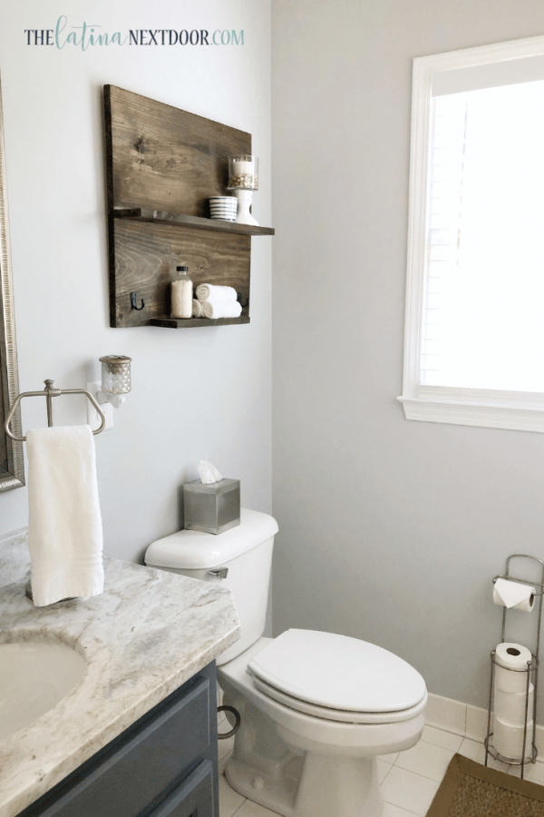 Coastal Farmhouse Bathroom Reveal 3 Coastal Farmhouse Bathroom Reveal