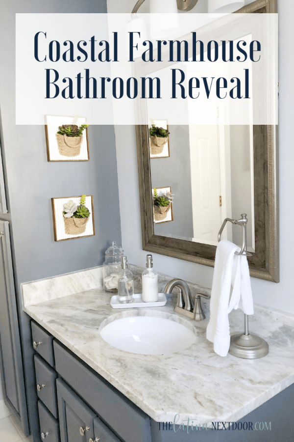 Coastal Farmhouse Bathroom Reveal 7 Coastal Farmhouse Bathroom Reveal
