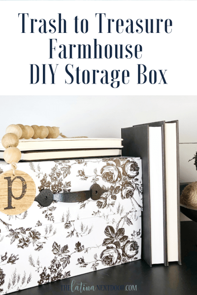 Trash to Treasure Farmhouse Storage Box