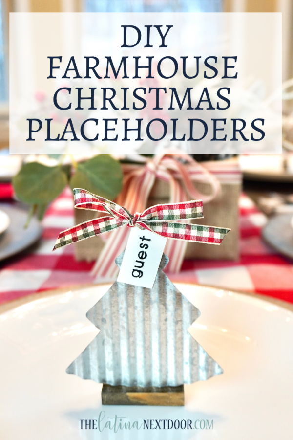 DIY Farmhouse Christmas Placeholders Pin DIY Farmhouse Christmas Placeholder