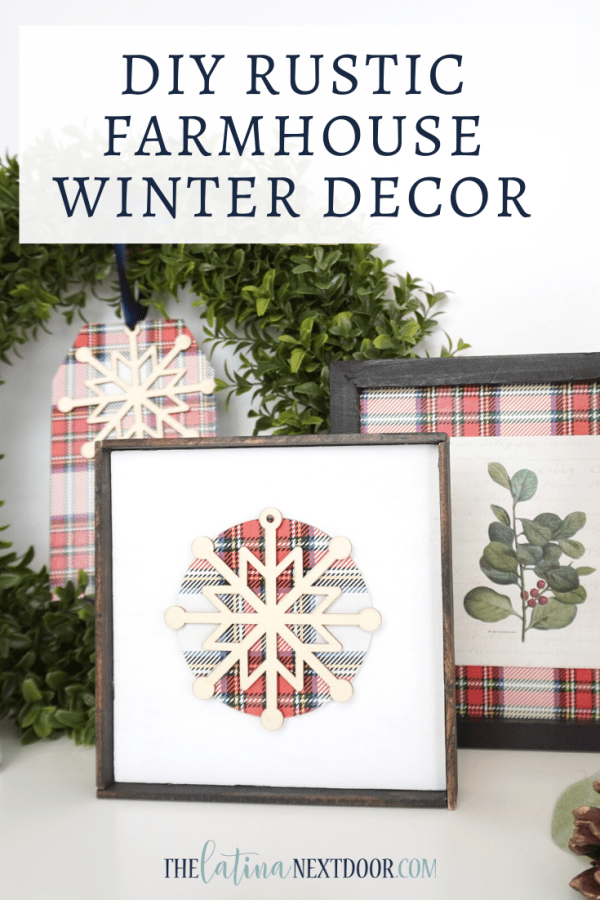 DIY Rustic Farmhouse Winter Decor DIY Rustic Farmhouse Winter Decor