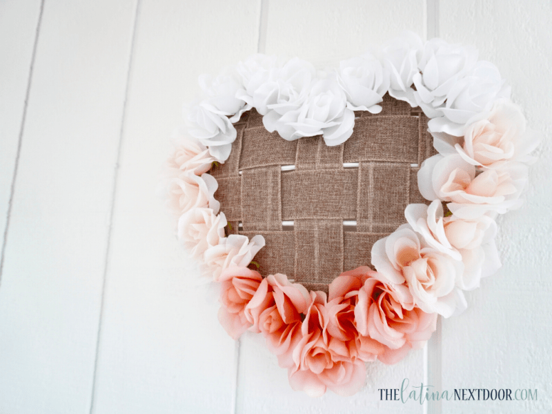 Dollar Tree Valentines DIY Wreath 14 Dollar Tree Valentines DIY Wreath