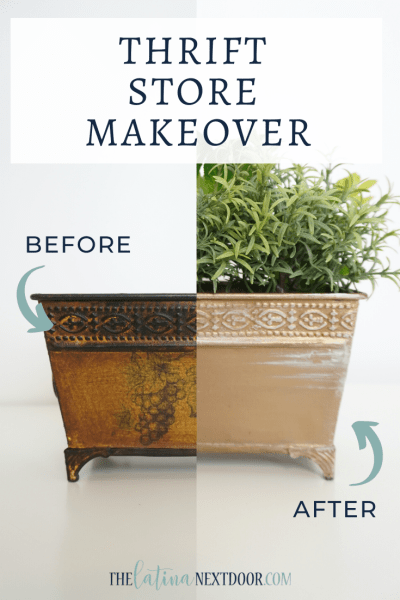 Thrift Store Makeovers Episode 1