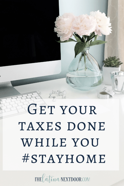 Get your Taxes Done While You #StayHome