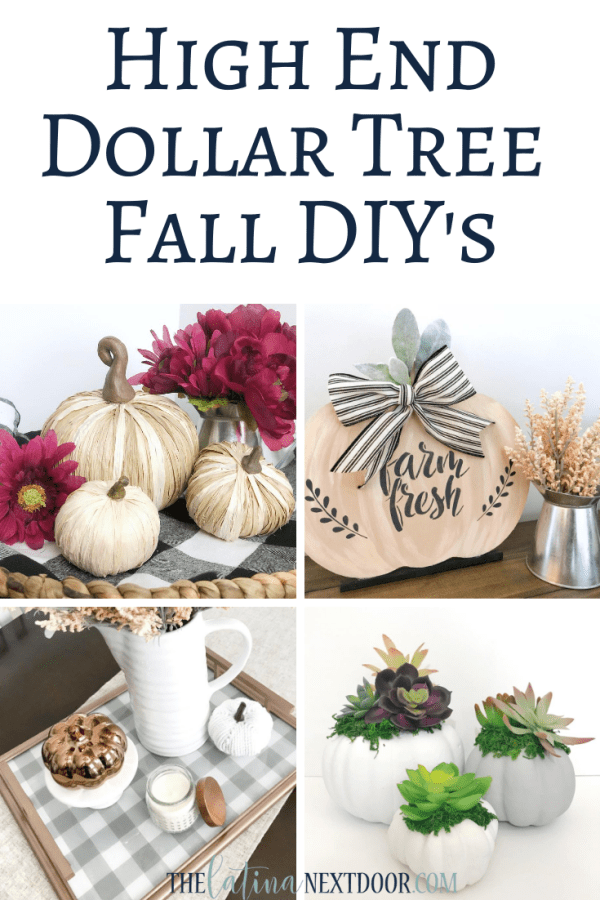 7 High End Dollar Tree Fall DIYs 7 High End Dollar Tree Fall DIYs