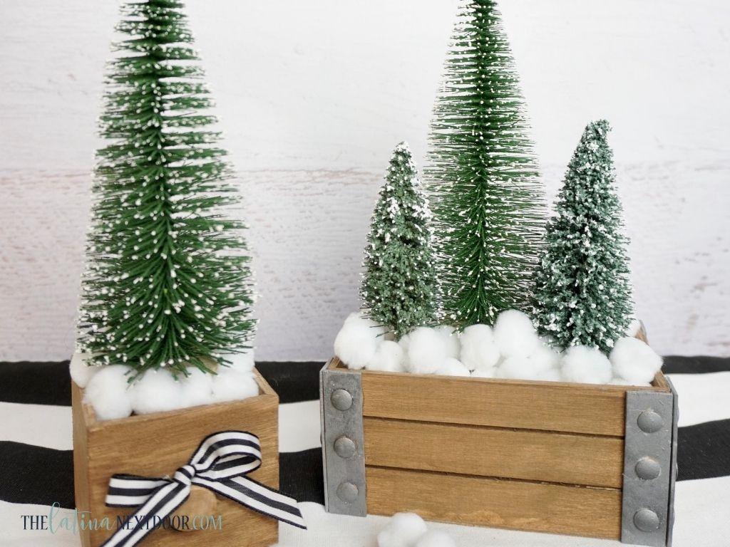 Dollar Tre Mini Christmas Tree Decor 3 Dollar Tree Mini Christmas Tree Decor