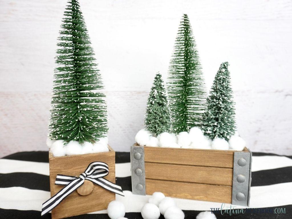 Dollar Tre Mini Christmas Tree Decor 4 Dollar Tree Mini Christmas Tree Decor