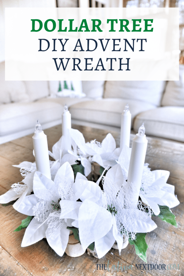 Dollar Tree Advent Wreath Dollar Tree Advent Wreath