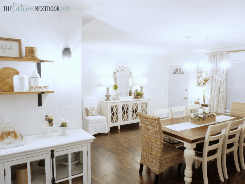 Dining Area Reveal 7 Cottage Farmhouse Dining Room Reveal