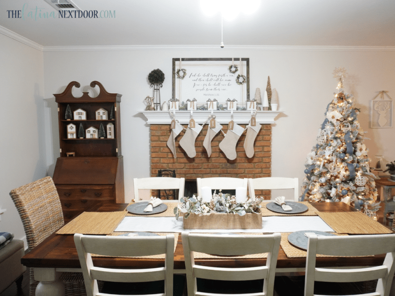Dining Before 5 Cottage Farmhouse Dining Room Reveal