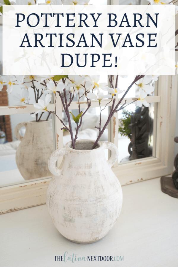 Pottery Barn Artisna Vase Dupe Pottery Barn Artisan Vase Dupe