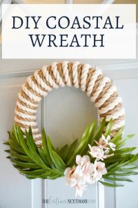 %name DIY Coastal Wreath