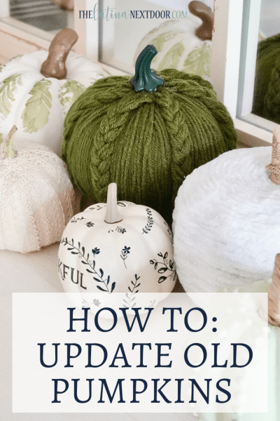 How To Update Old Pumpkins