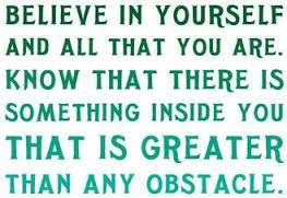 believe obstacle