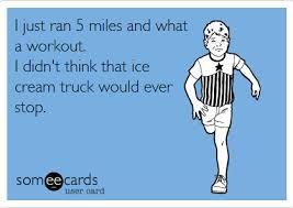 run to ice cream