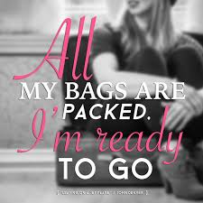 all my bags packed
