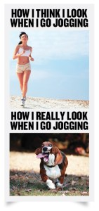 how I look jogging
