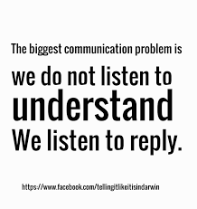 communication problem