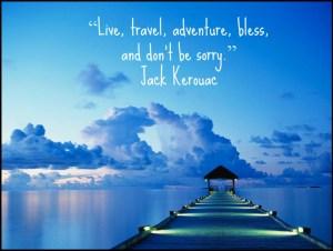 live, travel, bless