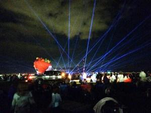 laser lights at fiesta