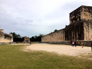 Chichen Itza ball court
