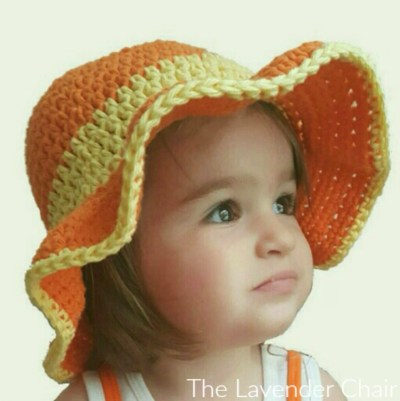 Ava's Summer Sun Hat - Free Crochet Pattern - The Lavender Chair