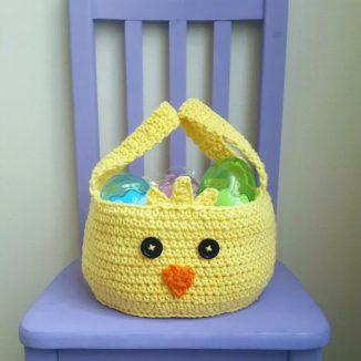 Chickadee Easter Basket