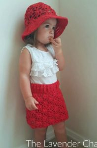 Weeping Willow Skirt -Free Crochet Pattern - The Lavender Chair