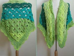 Gemstone Lace Shawl