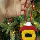 Santa's Christmas Ornament