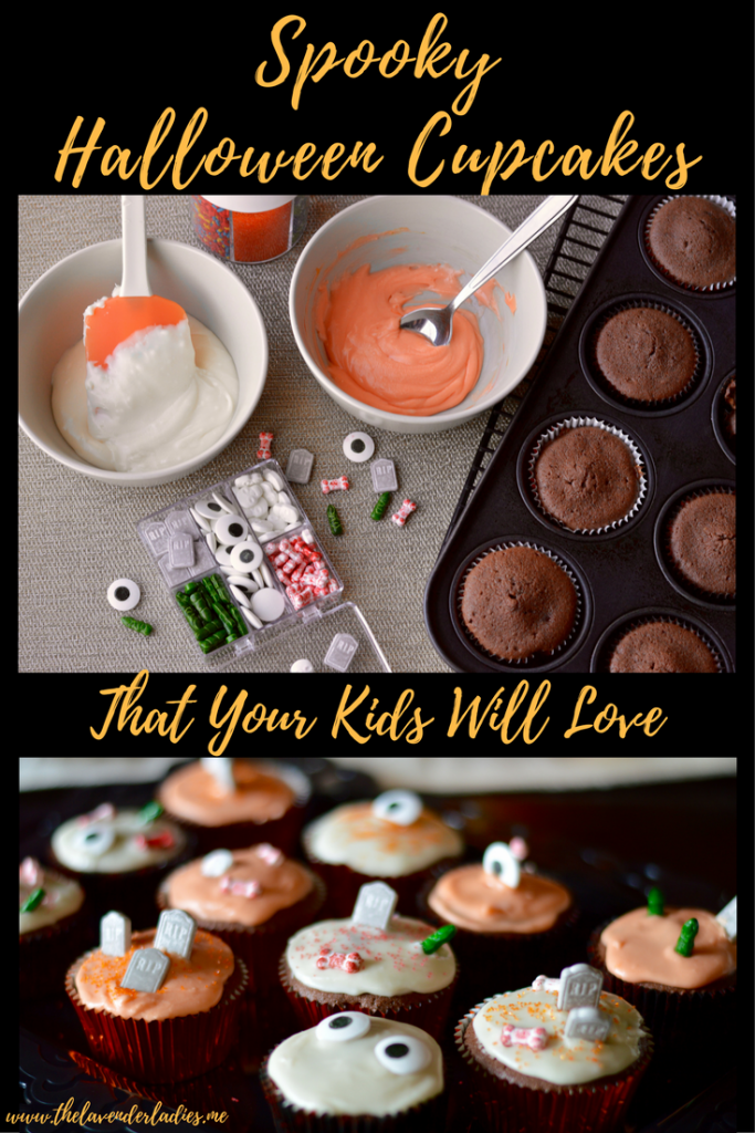 Spooky Halloween Cupcakes That Your Kids Will Love To Make!