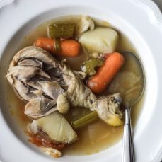 30 Minute Chicken And Vegetable Soup