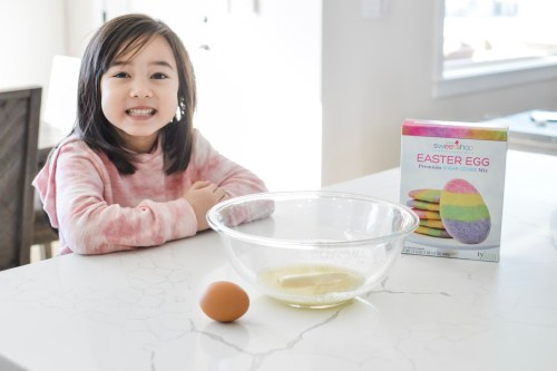 Baking with Kids- Easter Cookies