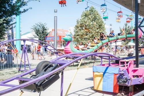 Iowa State Fair kids rides