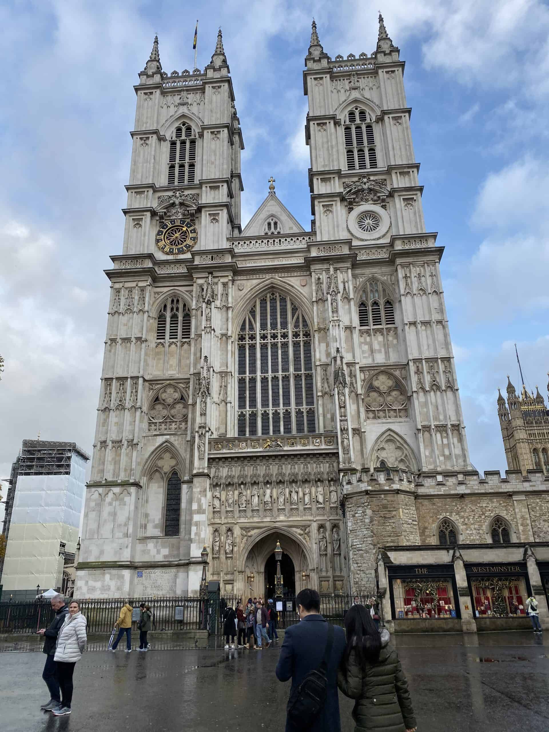 Westminster Abbey London Outside
