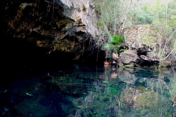 TULUM : THREE LITTLE CENOTES